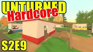 Trailer Park Zombies!! - Unturned HARD Mode - S2E09 (New Brunswick Map)