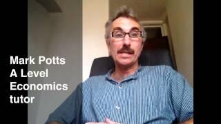 A Level Economics Tutor