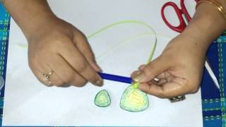 29. How to make Quilling filligri or Jaali work