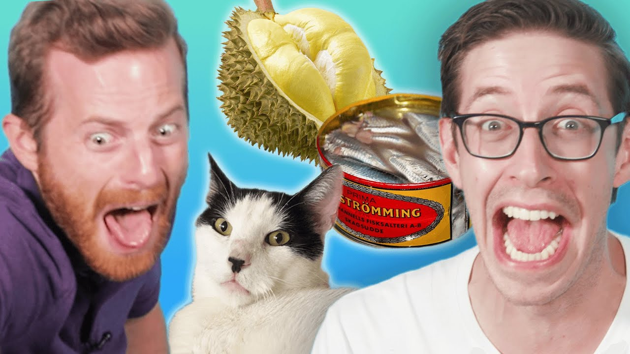 The Try Guys Vs. The World's Smelliest Foods!