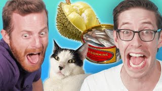 The Try Guys Vs. World's Smelliest Foods!