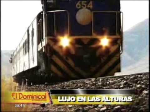 Lujo en las alturas: turistas viajan a Cuzco en el tren más exclusivo y caro (1/2)