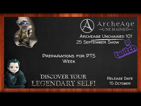Archeage Unchained – Wednesday Morning PTS Question List Building