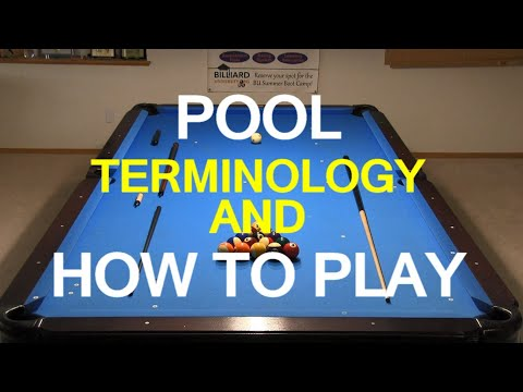 Glossary Billiards And Pool Principles Techniques Resources
