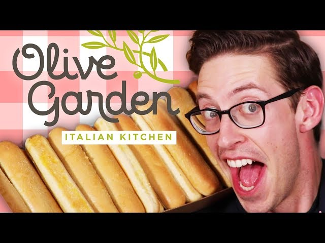Keith Eats Everything At Olive Garden