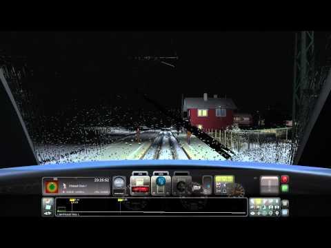 Stormy Night part 1 [Train Simulator 2015]. Munich to Garmisch. DB BR426