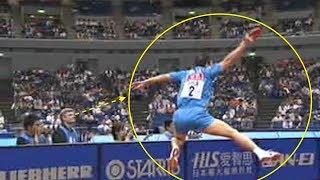 【卓球】ペンホルダーに裏面打法!中国マジカルサービス、馬琳がヤバい。。。【衝撃】Ma Lin【chinese】