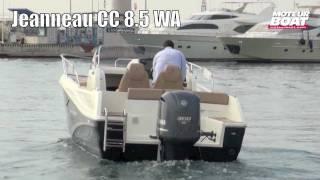 JEANNEAU Cap Camarat 8.5 WA - Essai moteurboat.com
