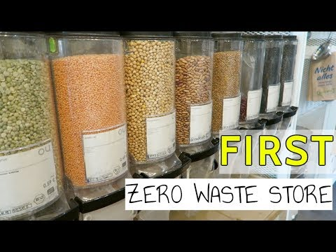 FIRST 100% ZERO WASTE STORE WORLDWIDE || Berlin, Germany