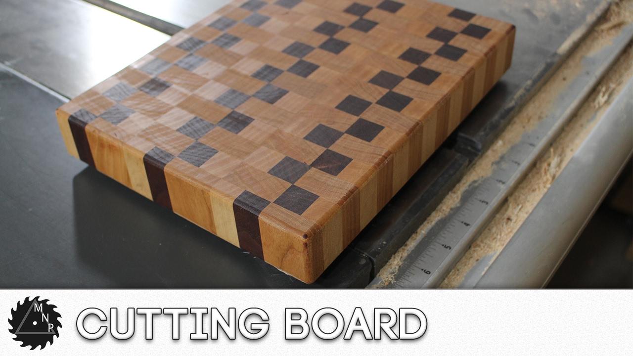 Pallet End Grain Cutting Board?? - YouTube