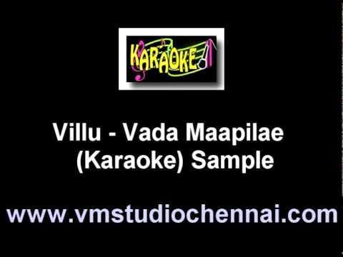 Villu - Vada Mappila (Karaoke).mpg