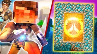 How to Make a Portal to the OVERWATCH DIMENSION | Minecraft