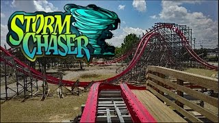 storm chaser hd front seat on ride pov review rmc hybrid kentucky kingdom
