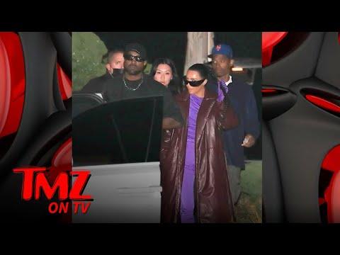 Kim-Kardashian-Kanye-West-Reunite-for-Dinner-with-Friends-in-Malibu-TMZ-TV