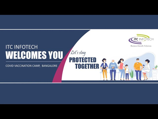 ITC Infotech Vaccination Drive Video Diaries – Episode 1