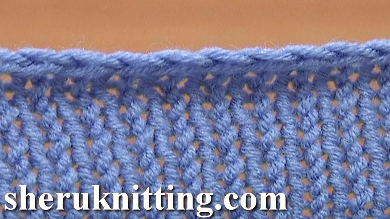 Basic Binding Off Casting Off Knitting Tutorial 7 Method 4 Of 12