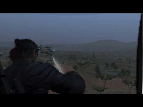 MGSV:TPP | This Is Pequod Arriving Shortly At LZ