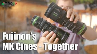 Fujinon MK Cine lenses as a pair