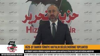 [23 Ekim 2018] Hizb-ut Tahrir Türkiye Haftalık Bilgilendirme Toplantısı