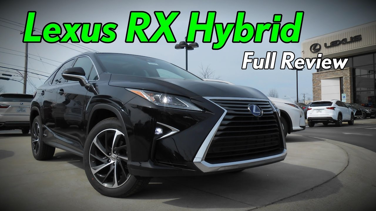 2017 Lexus Rx 450h Hybrid Full Review Luxury F Sport