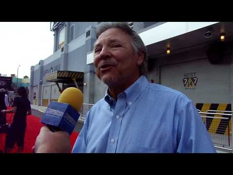 Transformers The Ride - 3D Orlando - Grand Opening Part 4 - Frank Welker and Peter Cullen