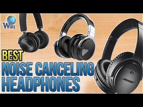 10 Best Noise Canceling Headphones 2018