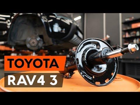 Как заменить стойку амортизатора передней подвески наTOYOTA RAV 4 3 (XA30) [TUTORIAL AUTODOC]