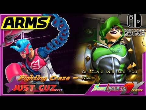 Just Cuz...: Fighting Craze - Dr. Coyle Will See You Now... - ARMS