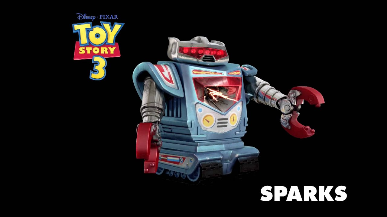 "Sparks The Robot Disney Pixar Toy Story 3 2/"" Figure"