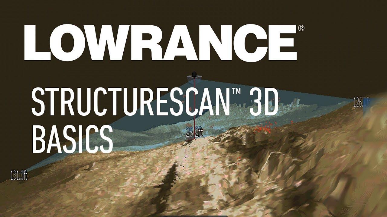 StructureScan 3D Basics | Lowrance