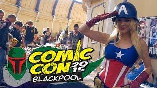 Blackpool Comic Con 2015 (BPCC) - Cosplay Music Video