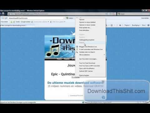 Online gratis muziek downloaden met DTS