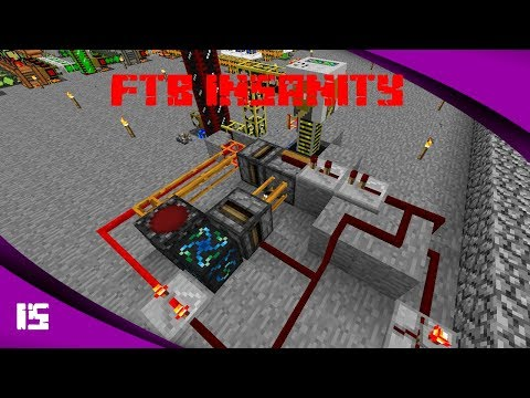 Starting Oil Power - FTB Insanity Skyblock Ep15