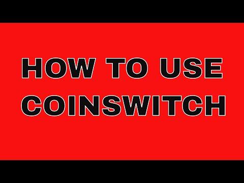 Coinswitch tutorial:Swap bitcoin for THETA