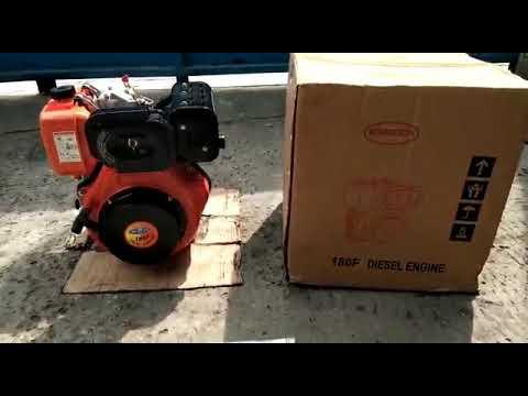 Mesin Pengerak Bahan Bakar Diesel Solar Type 186f Merk