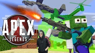 Gambar cover Monster School : APEX LAGEND CHALLENGE - Minecraft Animation