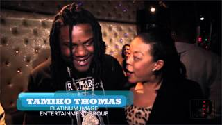 TAMIKO THOMAS INTERVIEWS FAT TREL AND JOSH MORGAN @ GLEESH LISTENING PARTY
