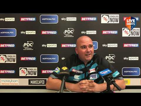 """Rob Cross on being Matchplay underdog: """"They might be higher in the betting, but they're not better"""""""