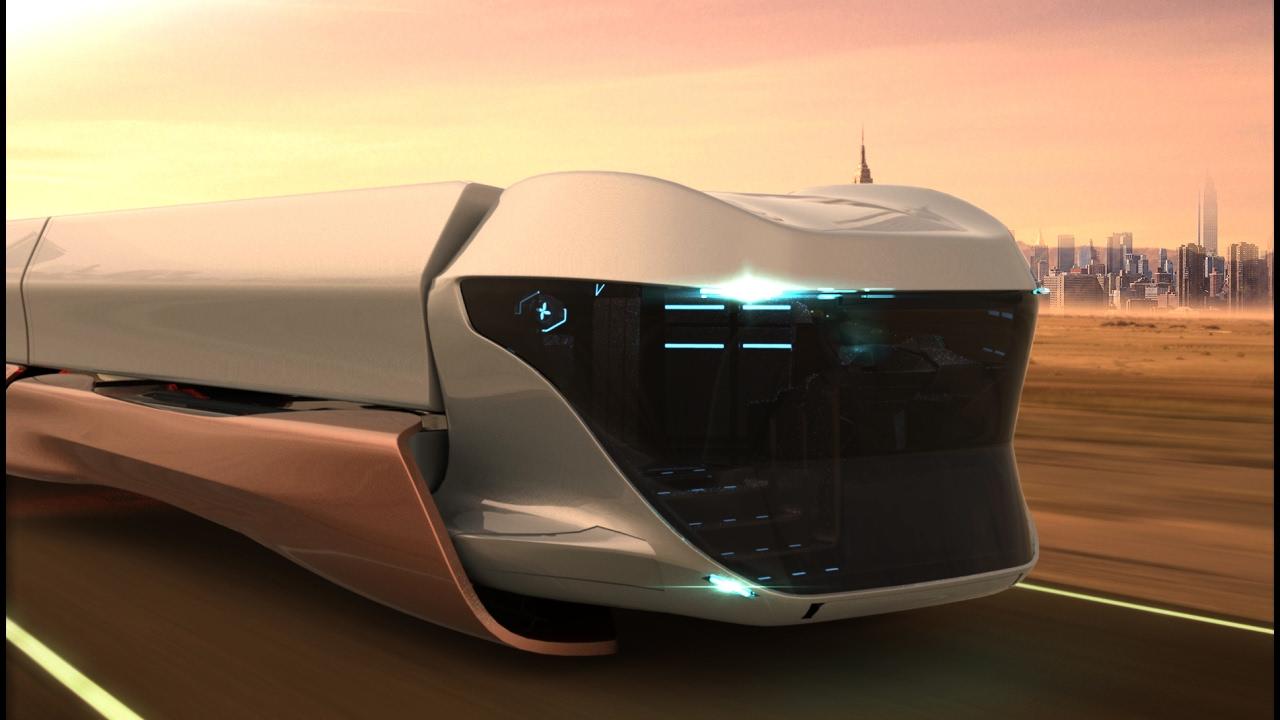 Scania Maglev Future Truck Concept