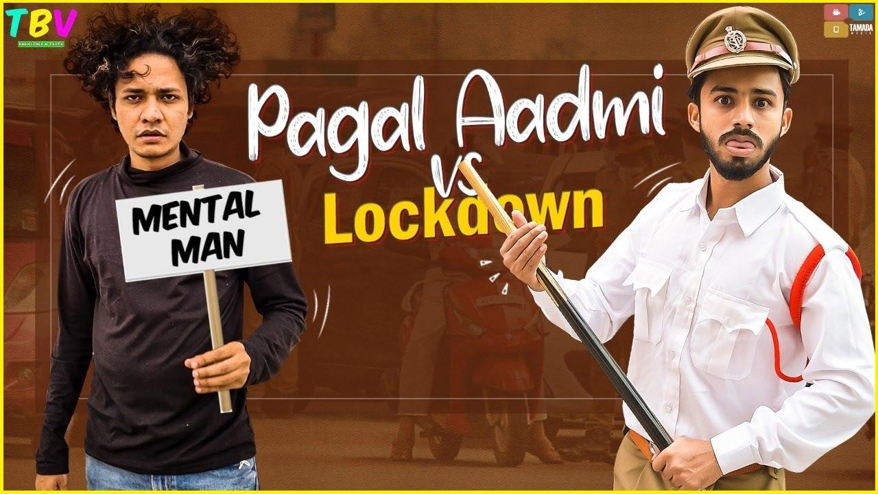 Mental Man vs Apni Police Aur Lockdown  | Comedy | The Baigan Vines