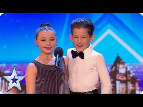 FIRST LOOK Adorable dancers Lexie and Christopher charm the Judges | BGT 2018