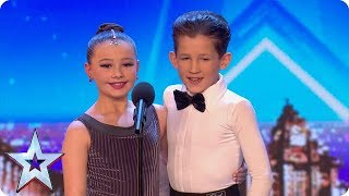 FIRST LOOK: Adorable dancers Lexie and Christopher charm the Judges | BGT 2018