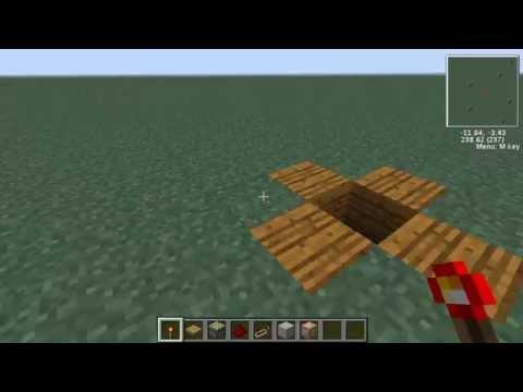 Minecraft 1.4.7 v.2 วิธีสร้างเครื่องจักรกลสุดไฮเทค