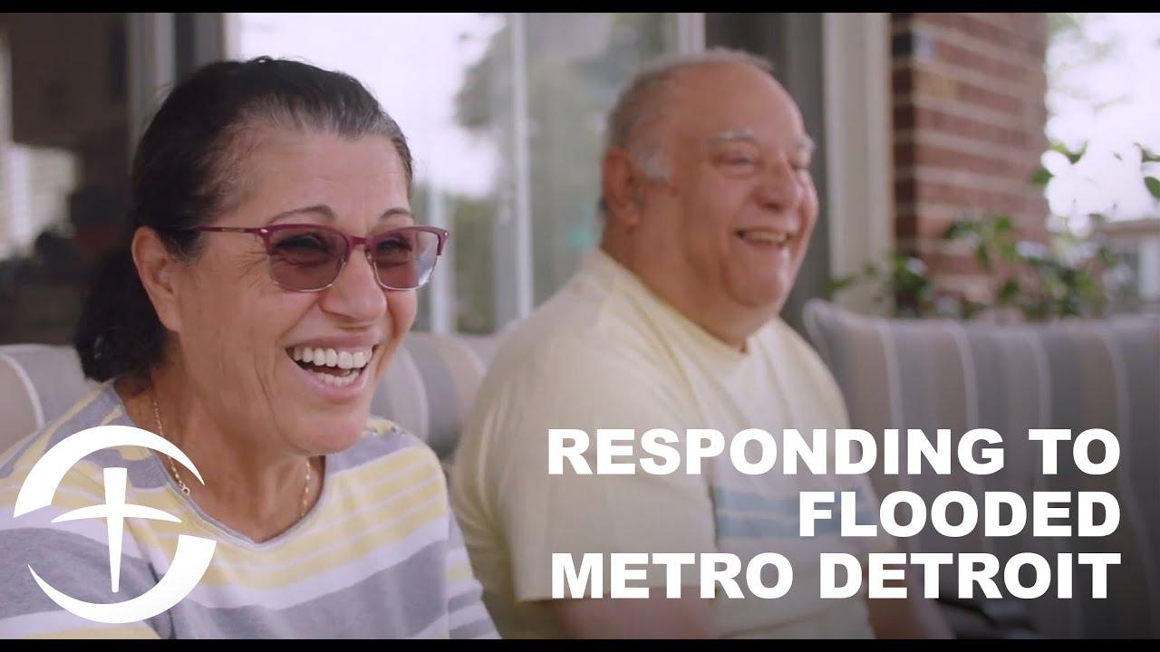 Responding to Flooded Metro Detroit