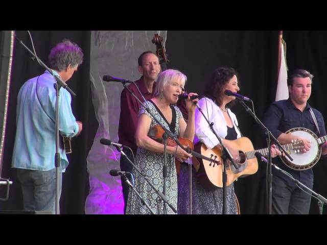 2014-06-14 Tribute to Vern and Ray - Kathy Kallick and Laurie Lewis - Cabin On A Mountain