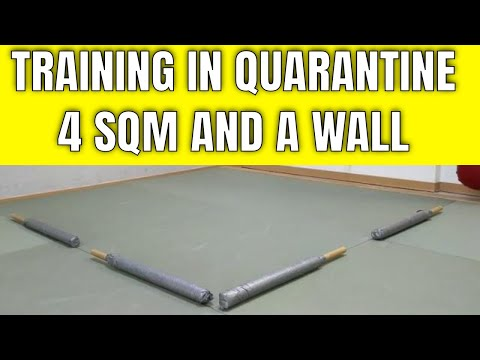 Bodyweight training on 4 squared meters and a wall!