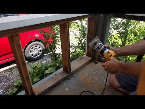 Porch baluster railing redesign part 2