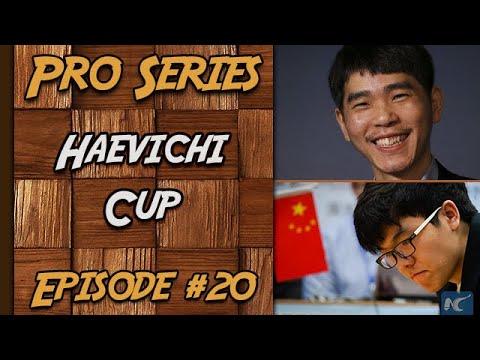 Jeu de Go - Pro Series - Ke Jie 9P VS Lee Sedol 9P - Haevichi Cup #20 par HisokaH   FR HD