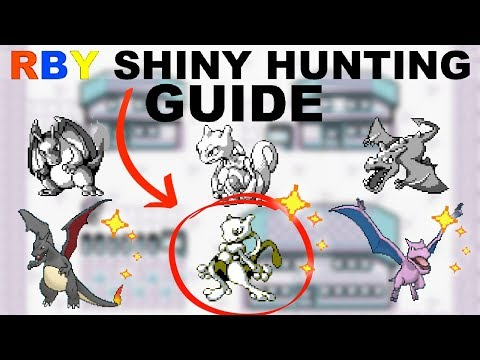 How To Shiny Hunt In Generation 1 Red Blue Yellow (Full Information Guide)