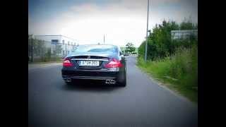 Mercedes-Benz CLS (C219) mit SUPERSPORT Sportauspuffanlage